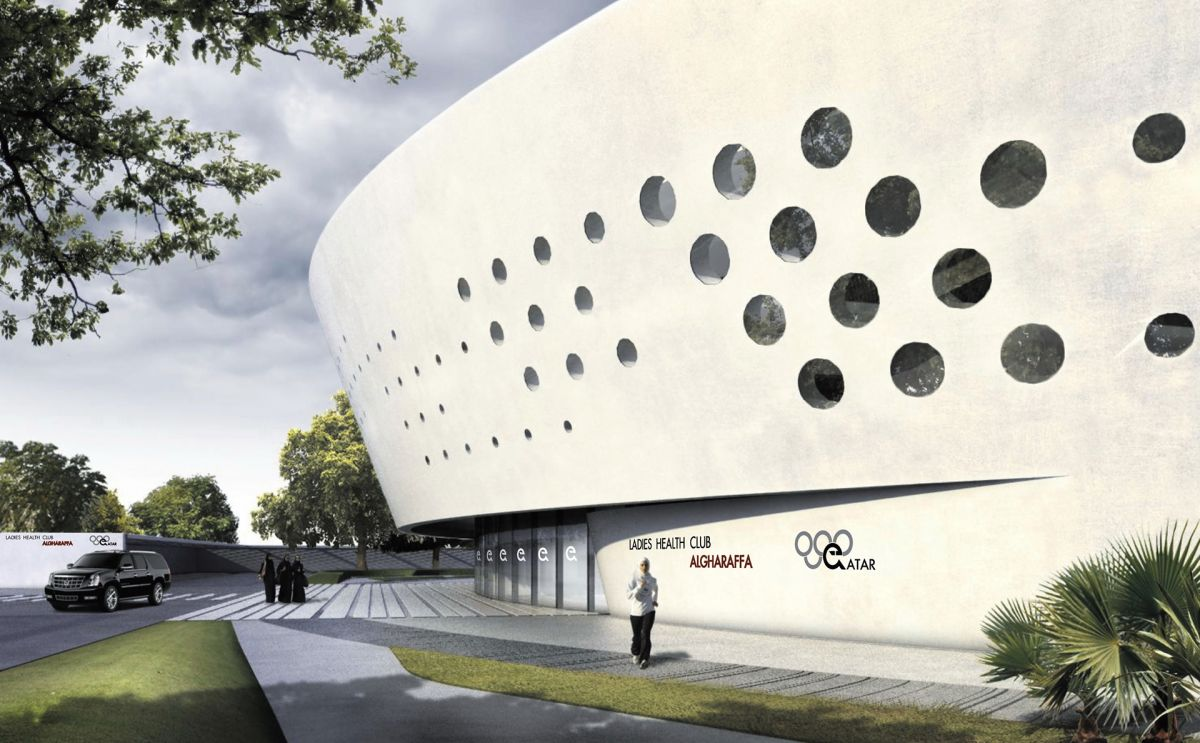 Ladies Sports Centre Doha at More Sports. More Architecture.  Ladies Sports C...