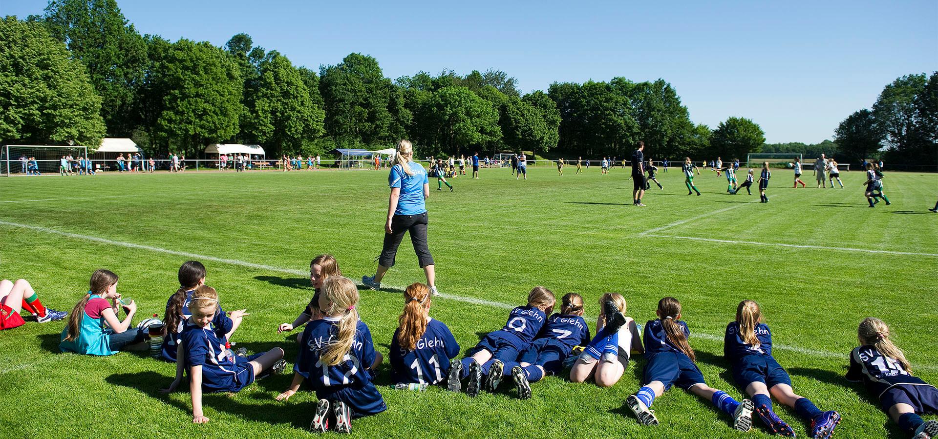 © LSB NRW: Mädchenmannschaft