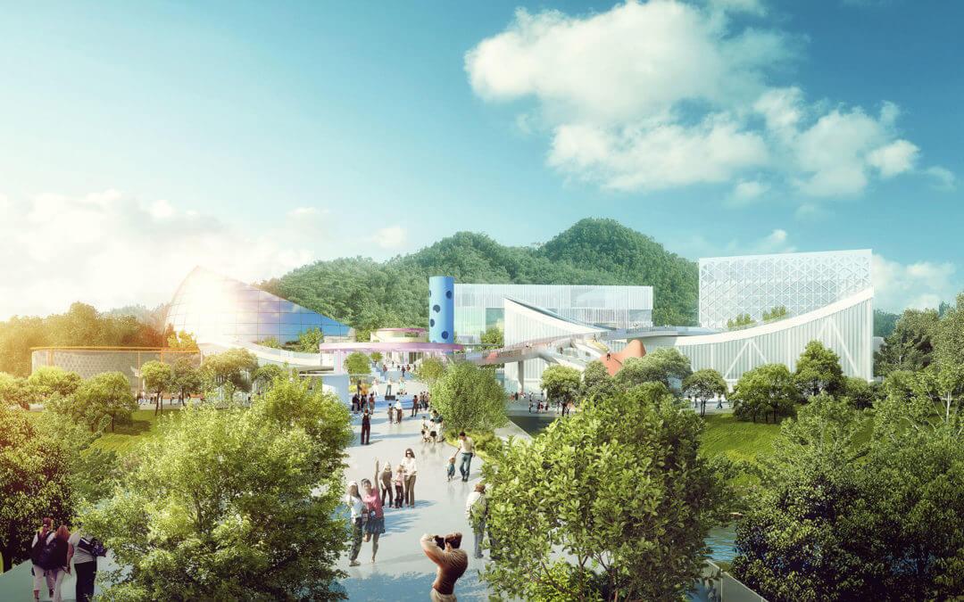 Sport- und Kulturzentrum in Shenzhen