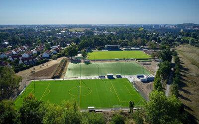 Sportplatz der Zukunft